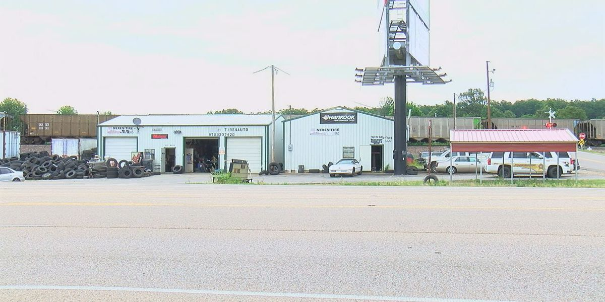 Fire at tire shop ruled arson