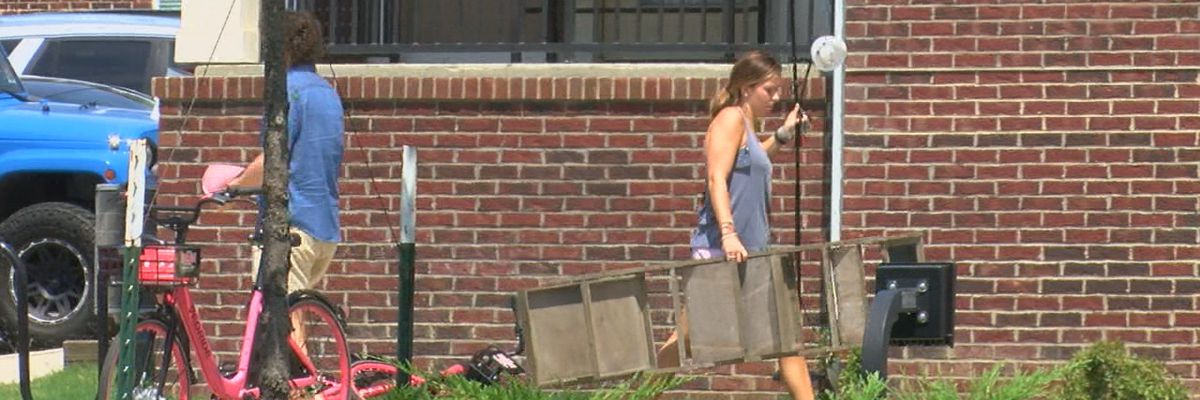 Students arrive on A-State campus, prepare for new school year