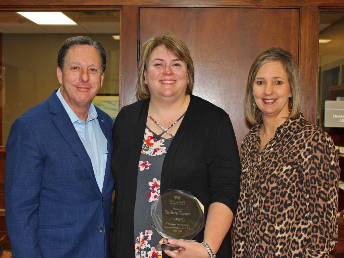 Area university honors Turner for work helping students