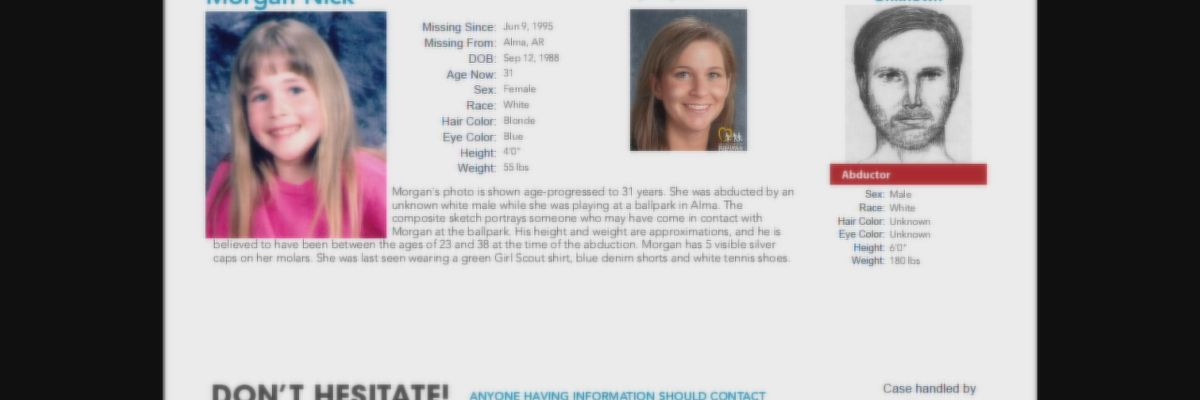 Police need help identifying owner/operator of truck seen near Morgan Nick disappearance