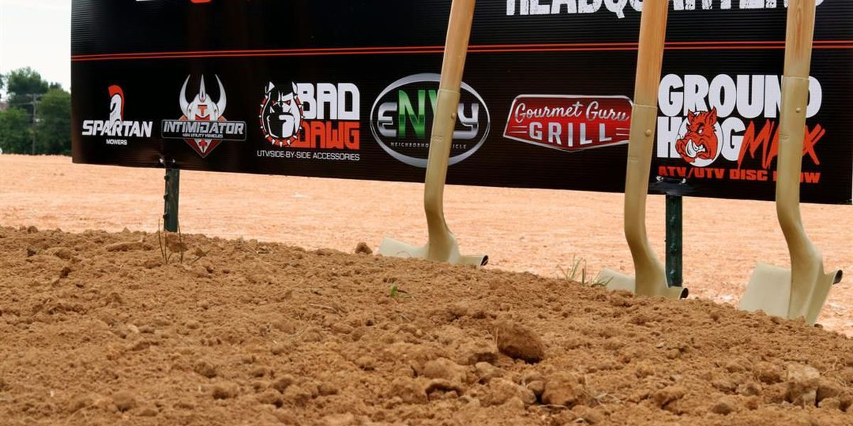 Intimidator, Inc. holds groundbreaking for new facility