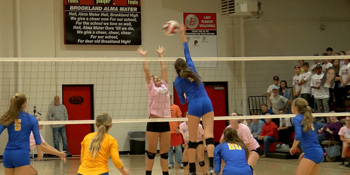 Valley View volleyball beats Brookland to move to 25-1