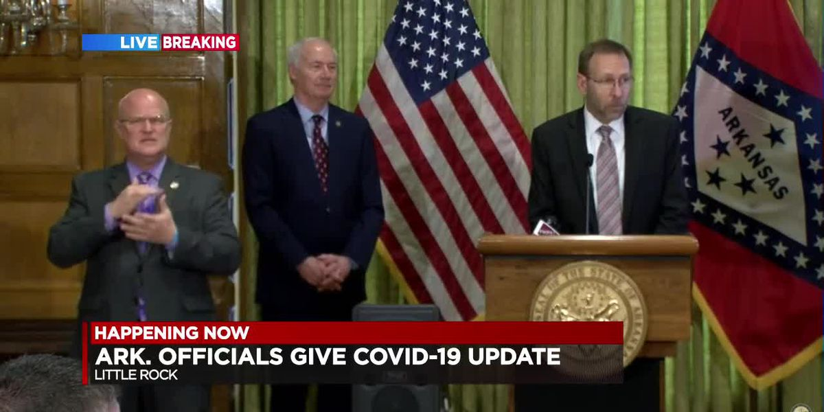 FULL BRIEFING: Gov. Hutchinson's daily COVID-19 update - 4/6