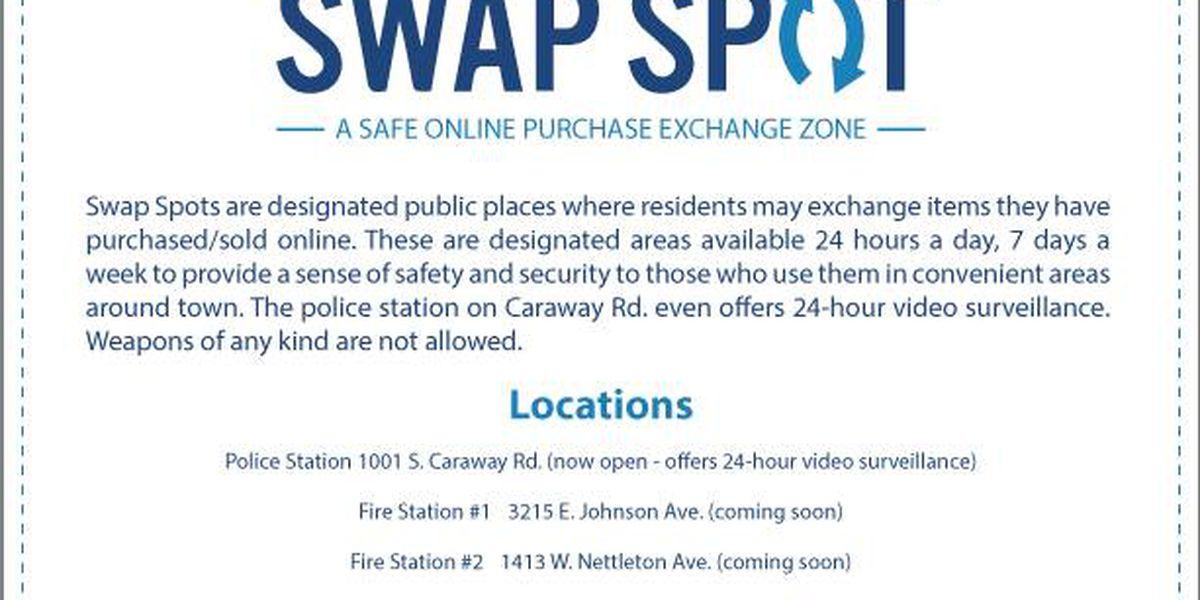 "Group sets up ""Swap Spots"" across city"