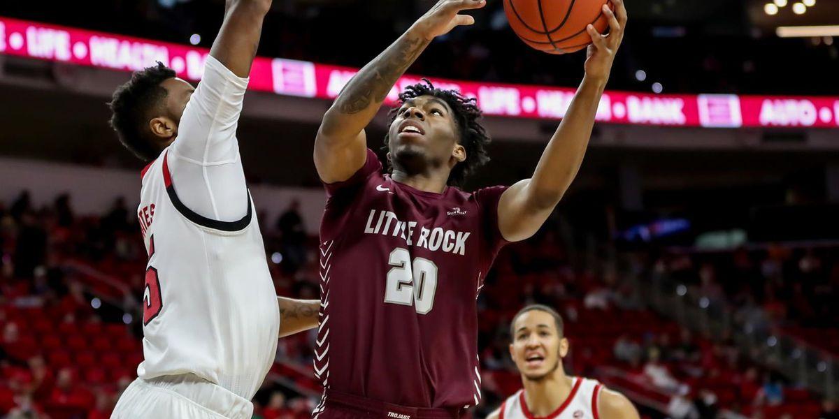 Little Rock forward Kamani Johnson transfers to Arkansas