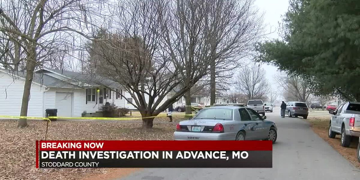 Death investigation underway in Advance, Mo.; suspect in custody