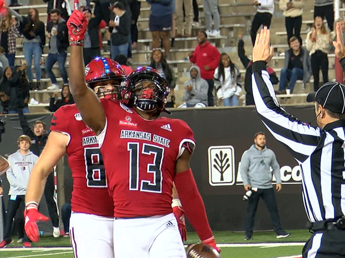 Arkansas State WR Kirk Merritt accepts invite to NFLPA Collegiate Bowl