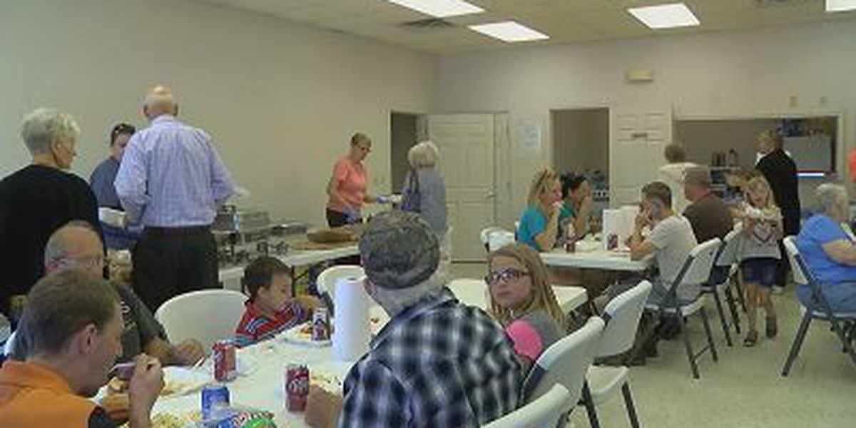 Community feeding held for flood victims