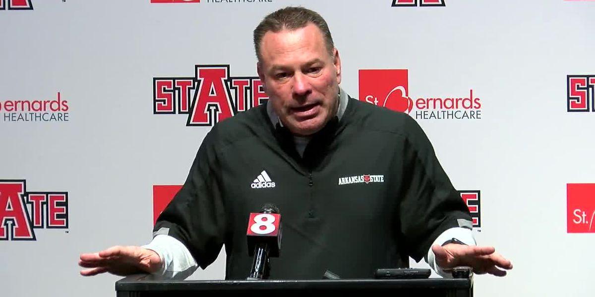 Butch Jones talks Arkansas State offseason & more in Sun Belt zoom conference
