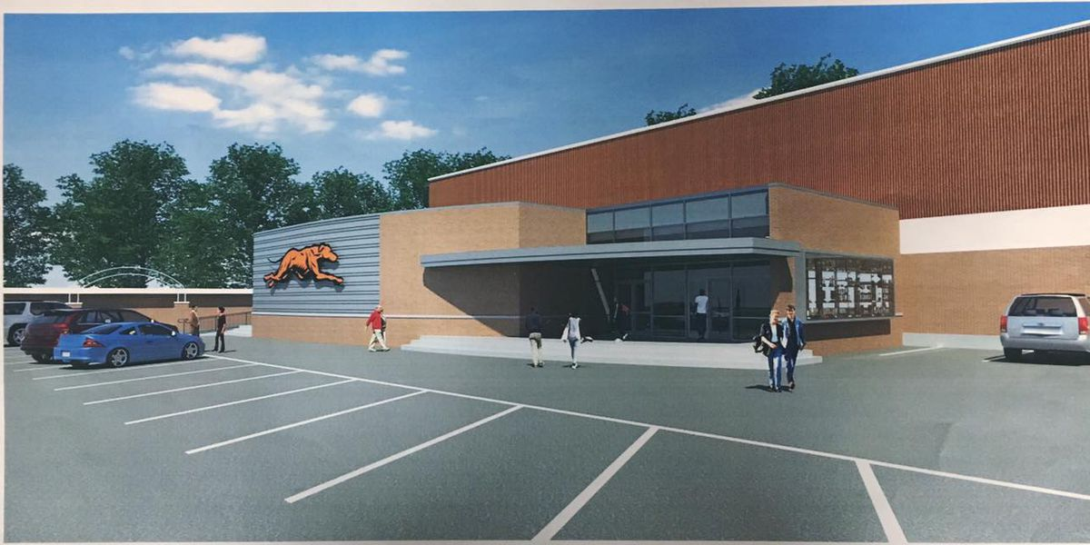 First look at new fieldhouse in Newport