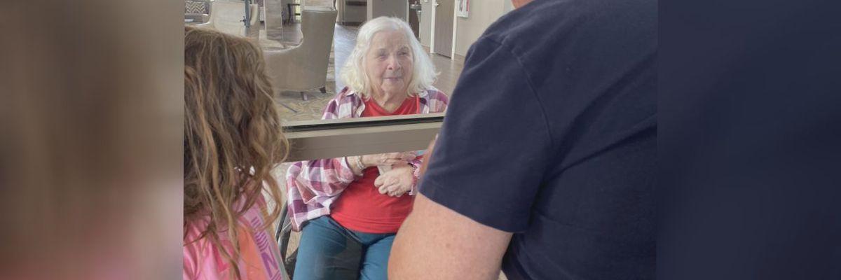 Jonesboro nursing facility resident hopeful she'll see family soon