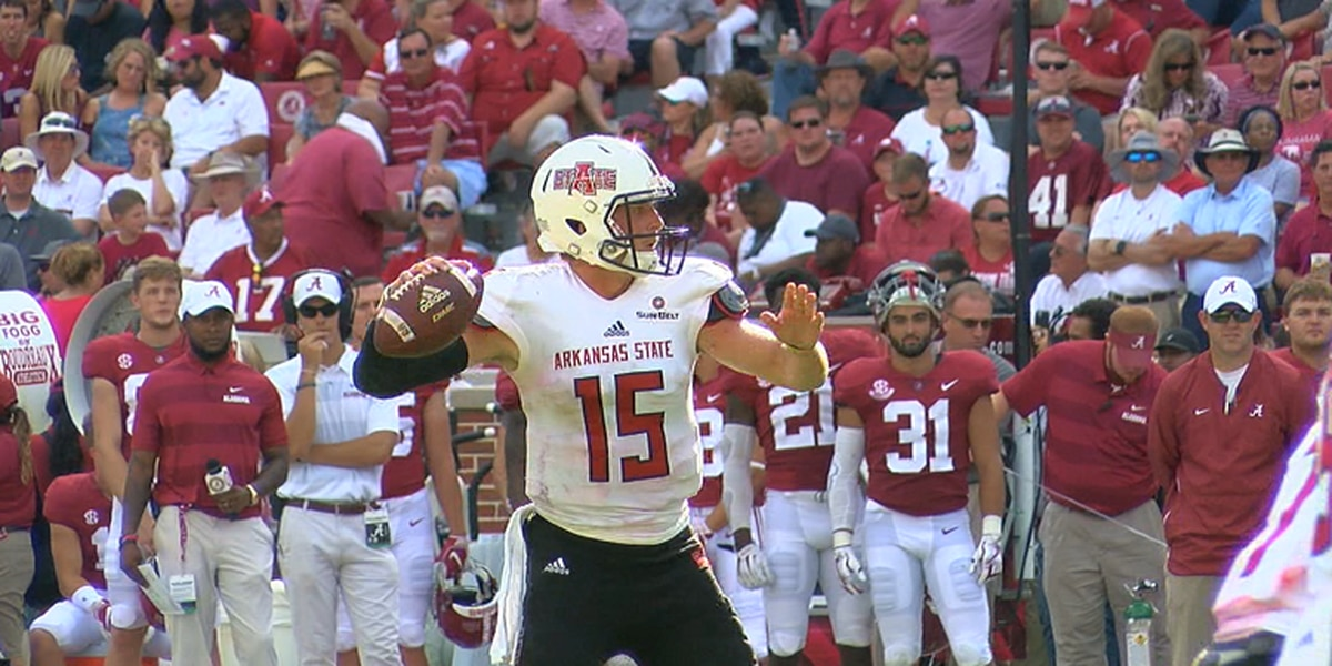 Arkansas State falls to #1 Alabama 57-7