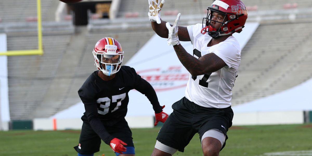 Arkansas State WRs Kirk Merritt & Omar Bayless will play in NFLPA Collegiate Bowl