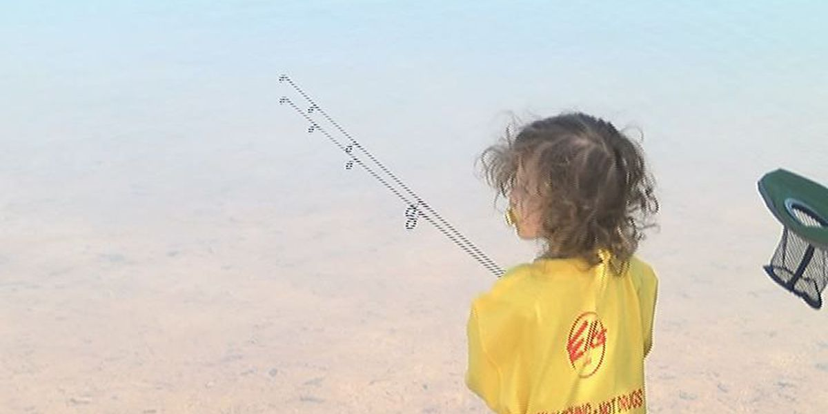 Fishing derby teaches kids to stand against drugs