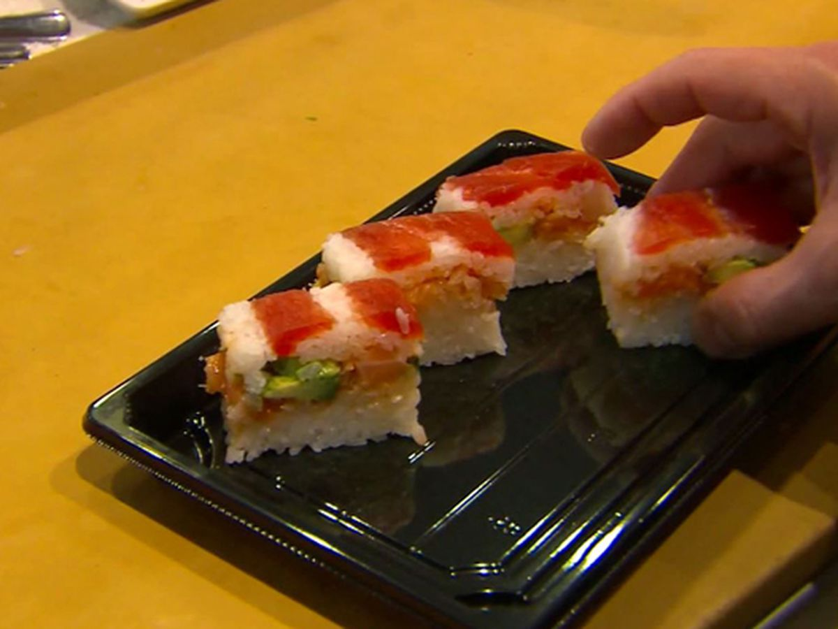 Man accused of making homemade bomb in sushi restaurant