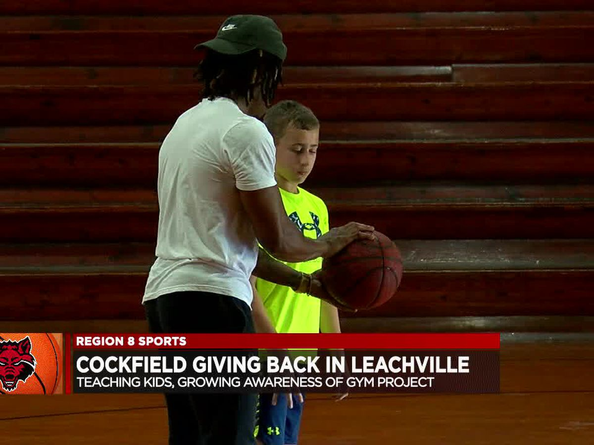Arkansas State great Ty Cockfield giving back in Leachville