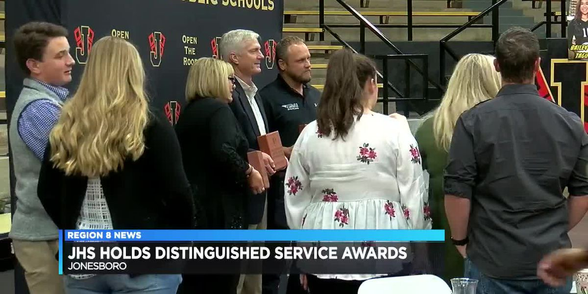 JHS Distinguished Service Awards