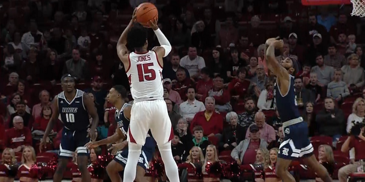 Arkansas guard Mason Jones named SEC Basketball Player of the Week