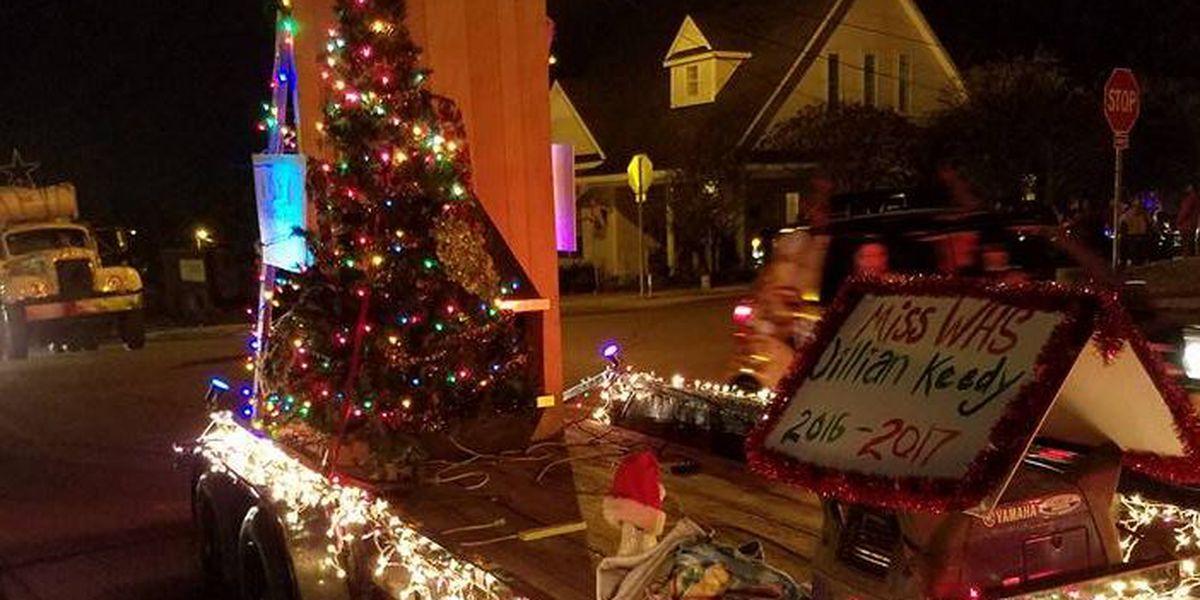 Despite wintry forecast, Cash Christmas Parade still on