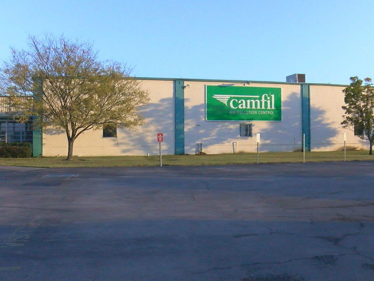 Camfil announces new facility, location after hit by March tornado