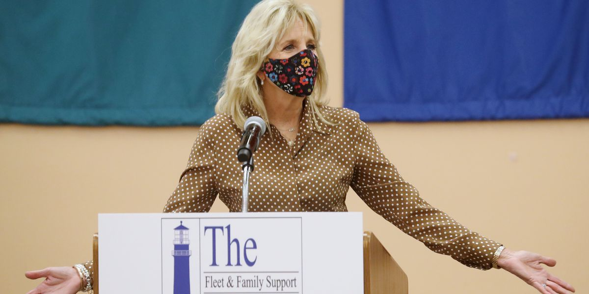 Jill Biden shines fresh spotlight on military family program