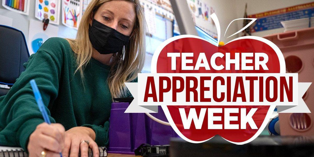 Celebrate National Teachers' Week